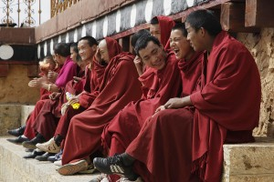 Calugari tibetani