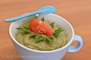 Pesto de dovlecel cu busuioc - varianta 2