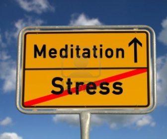 Meditatia si stresul
