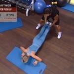 Antrenament acasa - Antrenament cu un partener - 3. Super push-up