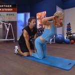 Antrenament acasa - Antrenament cu un partener - 9. Back extension
