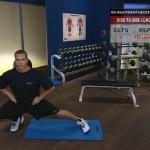 Antrenament acasa - Fara echipament - 2. Side-to-side lunge