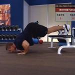 Antrenament acasa - Fara echipament - 3. Inverted push-up