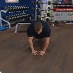 Antrenament acasa - Fara echipament - 5. Close-grip push-up