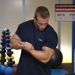 Antrenament acasa - Fara echipament - 7. Weightless concentration curl