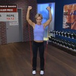 Antrenament acasa - Rezistenta - 4. Shoulder press