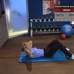 Antrenament acasa - Rezistenta - 8. Crunch