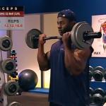 Brate - Bicepsi - Definirea musculaturii - 1. Standing EZ-bar curl