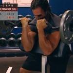 Brate - Bicepsi - Masa musculara - 2. EZ-bar preacher curl