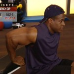 Brate - Triceps - Masa musculara - 2. Bench dip