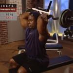 Brate - Triceps - Masa musculara - 3. Seated ez-bar french press