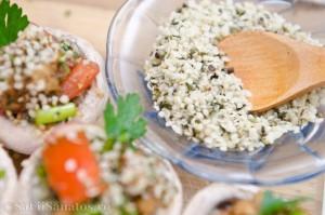 Ciuperci marinate umplute cu legume 7