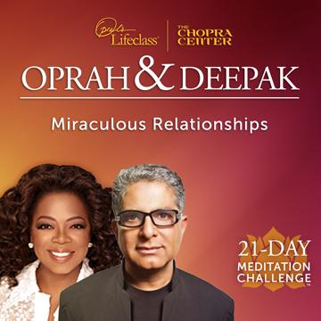 Deepak Chopra & Oprah 21 zile de meditatie