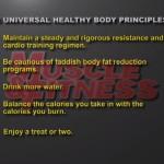 Nutritie 1. 5 principii universale de sanatate fizica