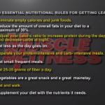 Nutritie 2. 10 reguli de nutritie esentiale pentru eliminarea grasimilor