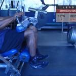 Picioare - Definirea musculaturii - 4. Seated leg curl