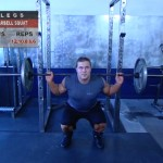 Picioare - Masa musculara - 1. Barbell squat
