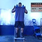 Picioare - Masa musculara - 6. Standing calf raise