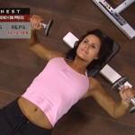 Piept - Definirea musculaturii - 1. Flat-bench db press