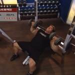 Piept - Definirea musculaturii - 2. Incline db press