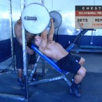 Piept - Masa musculara - 1. Incline barbell press
