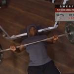 Piept - Masa musculara - 2. Flat-bench barbell press