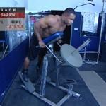 Spate - Definirea musculaturii - 1. T-bar row