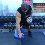 Spate - Definirea musculaturii - 3. One-arm db row