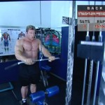 Spate - Definirea musculaturii - 4. Straight-arm pressdown