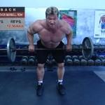 Spate - Masa musculara - 1. Bent-over barbell row
