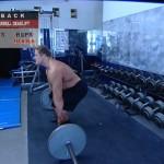 Spate - Masa musculara - 2. Barbell deadlift