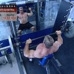 Umeri - Definirea musculaturii - 1. Seated-smith machine press