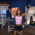 Umeri - Definirea musculaturii - 3. Overhead db lateral raise