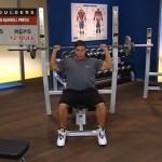 Umeri - Masa musculara - 1. Seated barbell press
