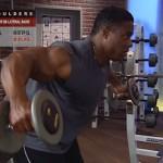Umeri - Masa musculara - 5. Bent-over db lateral raise