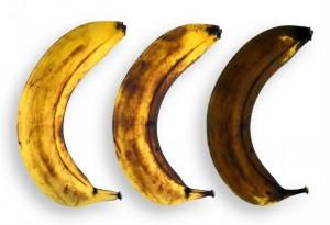 Bananele cu coaja neagra combat CANCERUL