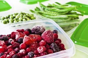 Legum si fructe congelate