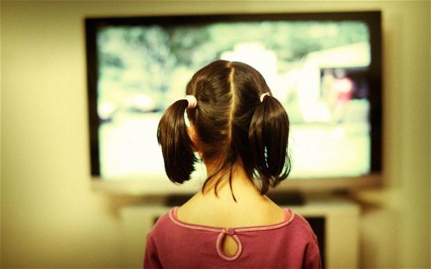 copiii si televizunea