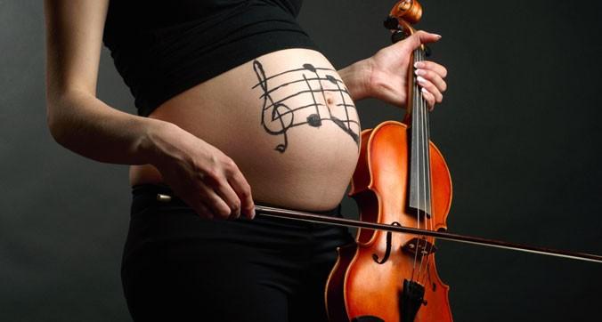 Muzica şi fătul