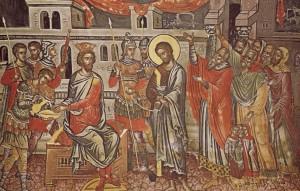 Iisus in fata lui Pilat