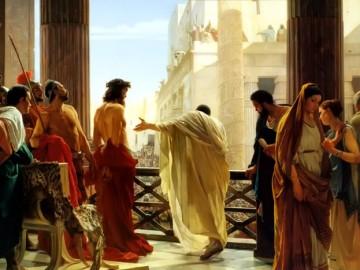 Isus si Baraba inaintea lui Pilat