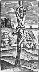 Justus Lipsius - Crux Simplex - 1629