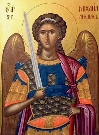 Sf Arhanghel Mihail - Icoana