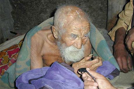 Indian in varsta de 179 de ani