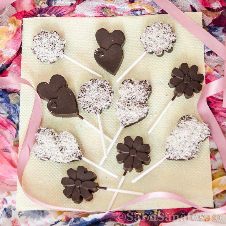 Praline de ciocolata raw vegane cu cocos 1