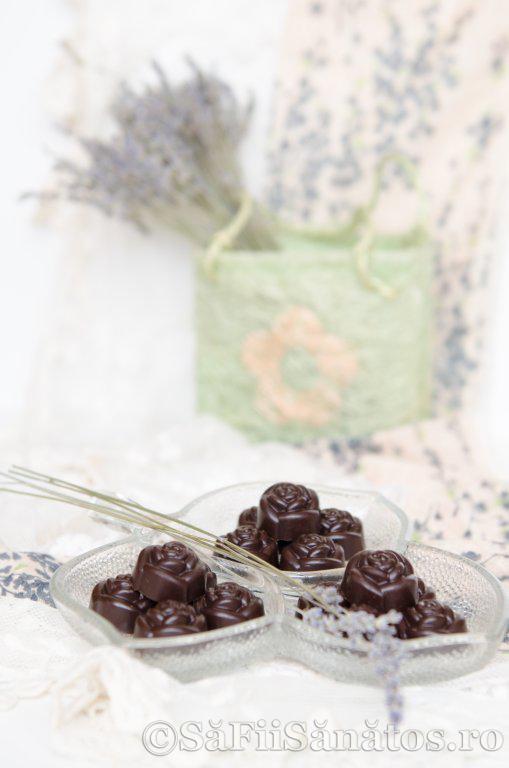 Praline de ciocolata raw vegane picante 2