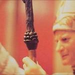 Conul din toiagul Papei