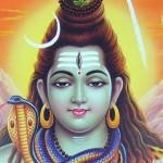 Shiva cu parul facut con