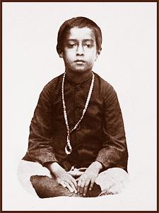 Paramahansa Yogananda copil