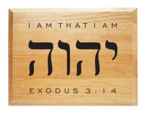 Yahwe - Eu sunt cel ce sunt